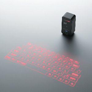 まるで未来!Bluetooth投映型プロジェクションキーボード