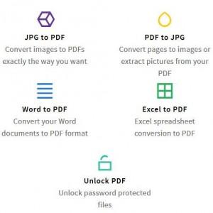 ブラウザで手軽にPDFを扱える「Small PDF」