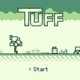 なんだか懐かしい?!ゲームボーイの新作ゲーム「Tuff」