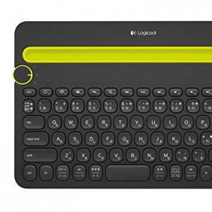 複数の端末を操作できる無線キーボード「K480」