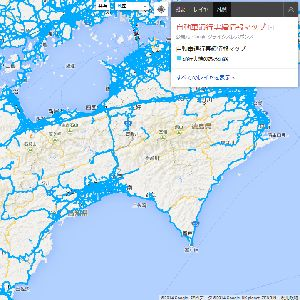 災害時に有効!Googleが四国の自動車通行実績マップを提供