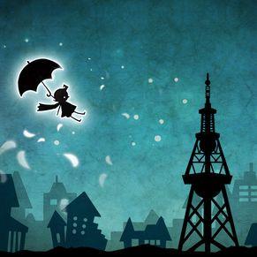 傘ひとつで旅を続けるよ 幻想的iPhoneゲーム「el」
