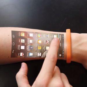 スマートフォンの未来がここに!?「Cicret Bracelet」