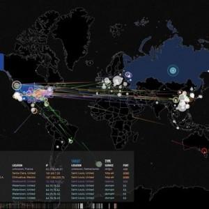 世界中で起きているサイバー攻撃がリアルタイムで見える!Norse