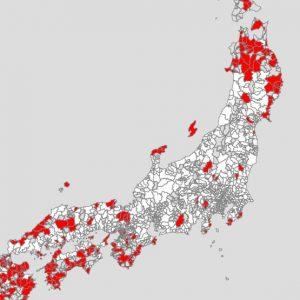 あなたの街の世帯収入はおいくら?「世帯の年間収入マップ」