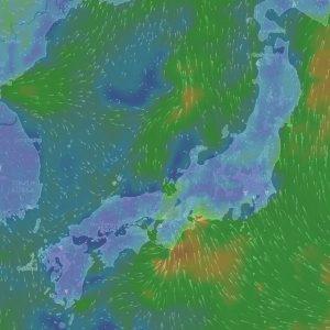 リアルタイムの風や気温がわかる「Windytv」
