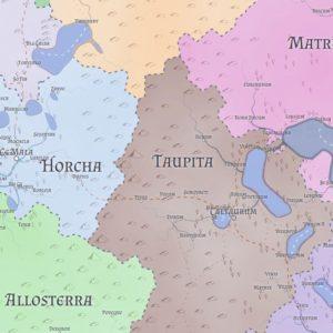 簡単にファンタジー世界の地図をつくれるマップジェネレーター